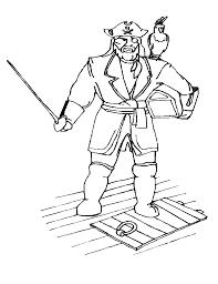 coloriage ã dessiner pirates de caraibes