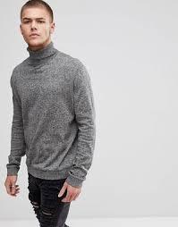 mens turtleneck sweater s turtleneck shop s roll neck sweater asos