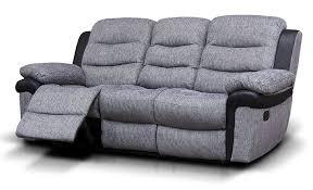 3 Seater Recliner Sofa Fabric 3 Seater Recliner Sofa