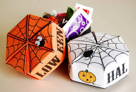 origami halloween boxes munchkins and mayhem
