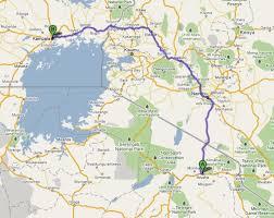 Tanzania Map Arusha Tanzania To Kampala Uganda Bus Rides From Hell