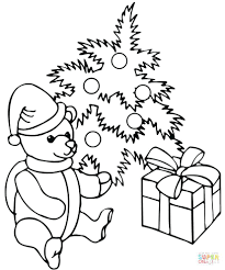free coloring pages christmas tree ornaments toddlers