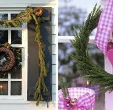 lovely pink ribbon ornaments with circular pine needle