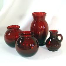 Ruby Vases 25 Best Ruby Glass Collection Images On Pinterest Glass