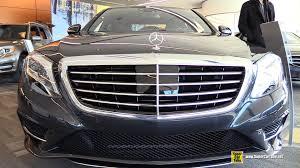 Mercedes Benz Sedan 2015 2015 Mercedes Benz S Class S 400 Sedan Exterior And Interior