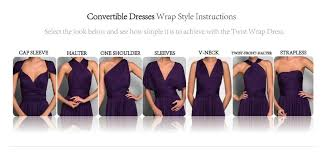how to wear your infinity convertible dress tutorial dress and charm