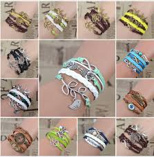 handmade charm bracelet images Leather handmade charm bracelets spot2save png