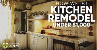 ideas to remodel a kitchen diy kitchen remodel ideas how we do it for 1 000