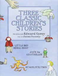 three classic children u0027s stories little red riding hood jack the