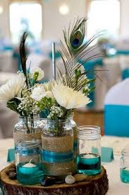 Feather And Flower Centerpieces by 100 Country Rustic Wedding Centerpiece Ideas Peacock Wedding