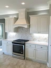 white kitchen cabinets with backsplash backsplash tile white white marble mahogany wood kitchen cabinet