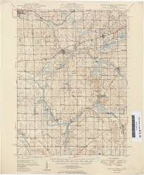 Michigan Road Map by