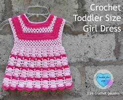 crochet toddler size dress free crochet pattern crochet for you