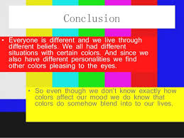 how does color affect mood color powerpoint