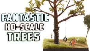 realistic trees for your model layout how to model railroad