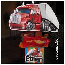 semi truck birthday centerpiece playpatterns net
