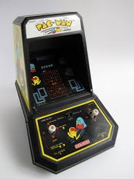 Tabletop Arcade Cabinet Coleco Pac Man Tabletop Arcade Model 2390 Incl Original Box