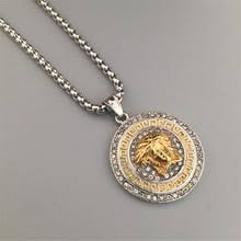 aliexpress buy ethlyn new arrival trendy medusa buy gold medusa necklace and get free shipping on aliexpress