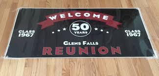 high school reunion banner glens falls high school class of 1967 reunion