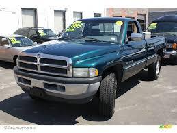 1997 dodge ram 1500 1997 emerald green metallic dodge ram 1500 laramie slt regular cab