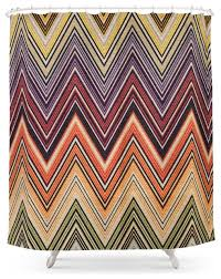 society6 missoni shower curtain contemporary shower curtains