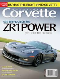corvette magazines corvette magazine media kit info