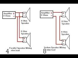 converting amplifiers series a or b speakers to parallel a and