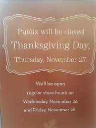 publix hours thanksgiving frugality is free