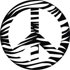 zebra clipart peace sign pencil and in color zebra clipart peace