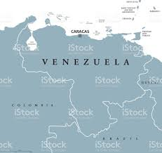 Venezuela Map Venezuela Political Map Stock Vector Art 649680618 Istock