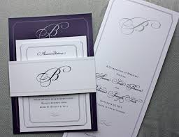 Making Invitation Card Wonderful Wedding Invitation Belly Band Theruntime Com