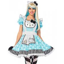 Kitty Halloween Costumes Kitty Aice Wonderland Costume Women Womens Cosplay