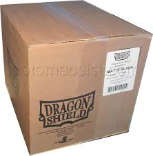 dragon shield std deck prot matte black case 400 potomac