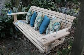 Cypress Outdoor Furniture by 5 Ft Handmade Cypress Porch Swing U2022 Nifty Homestead