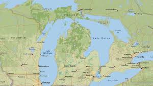Maps Of Michigan Map Shows Michigan Forest Roads Authorized For Off Road