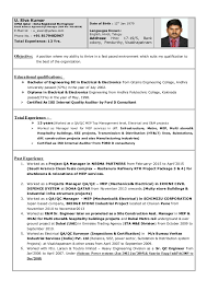 Best Electrical Engineer Resume by Qc Electrical Engineer Resume Contegri Com