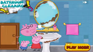 peppa pig cleaning bathroom video dailymotion