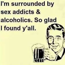 Sex Memes Funny - im surrounded by sex addicts funny ecard