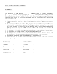 doc 585663 two party contract template u2013 sample contract