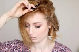 Frisuren Mittellange Haare Naturlocken by Locken Mit Dem Glätteisen Frisur Für Kurze Haare Advance Your