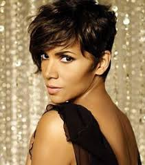 back view of halle berry hair halle berry pesquisa google make up and hairstyle pinterest
