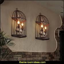Bird Sconce Decorating Theme Bedrooms Maries Manor Birdcage Bedroom Ideas