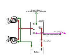 5 pin relay wiring diagram horn style by modernstork