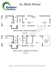 house plans simplex modular homes prefabricated bungalow homes