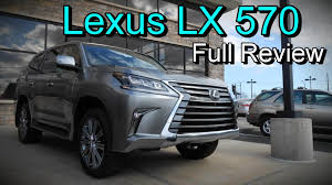 lexus lc fuel economy 2016 lexus lx 570 4wd full review youtube
