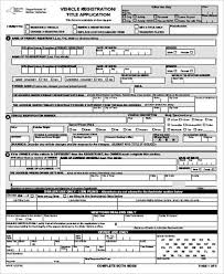 sample dmv application form 9 examples in word pdf