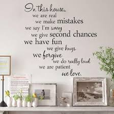 Family House Rules Free Express Family House Rules Wall Quotes In This House Vinyl