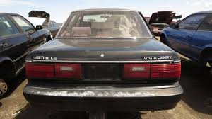 toyota car yard junkyard treasure 1989 toyota camry all trac awd autoweek