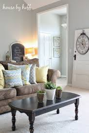 Living Room Ideas With Light Brown Sofas A Scandinavian Cottage By The Sea Designsponge Brown Couch Living