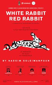 rabbit poster white rabbit rabbit alley kurgan